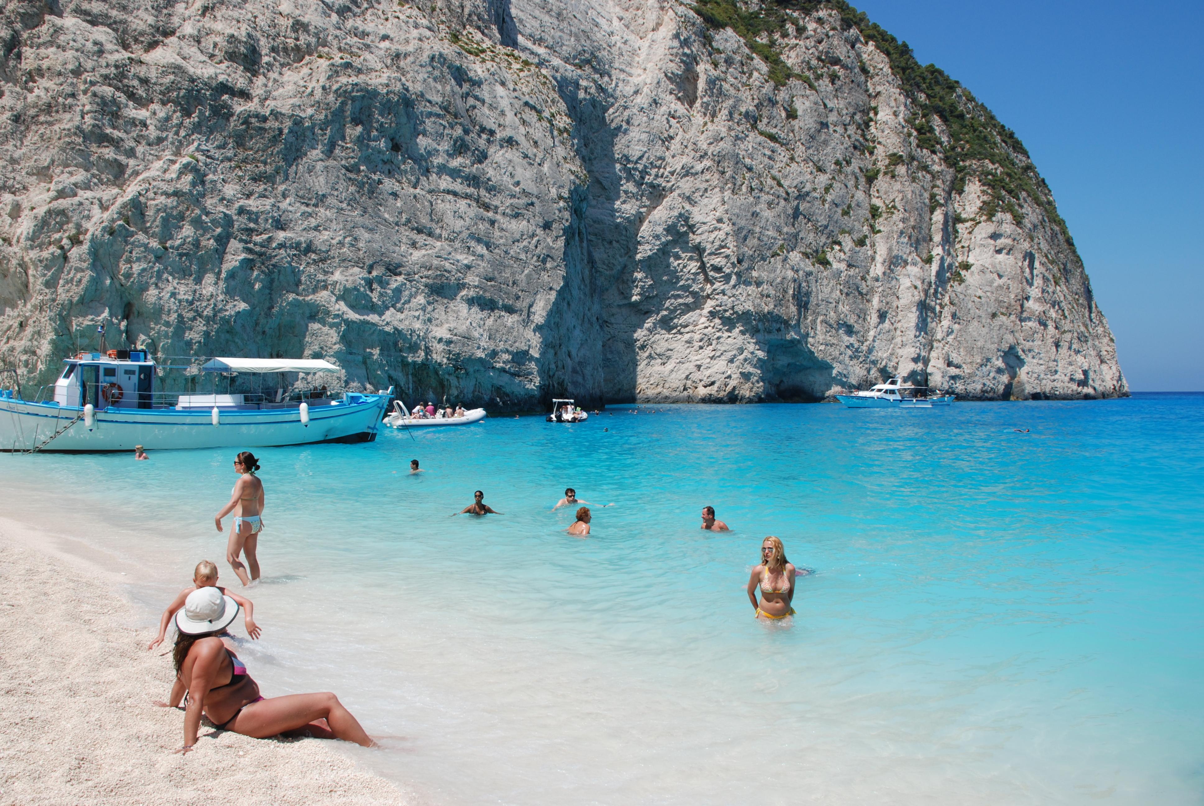 Фото пляжей островов греции 46