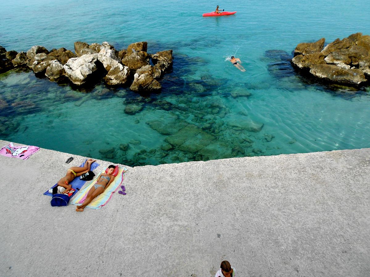 Италия на пляже фото