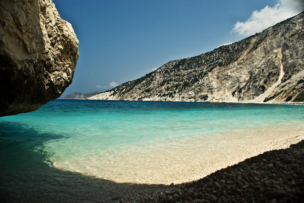 Фото с пляжей в греции 81