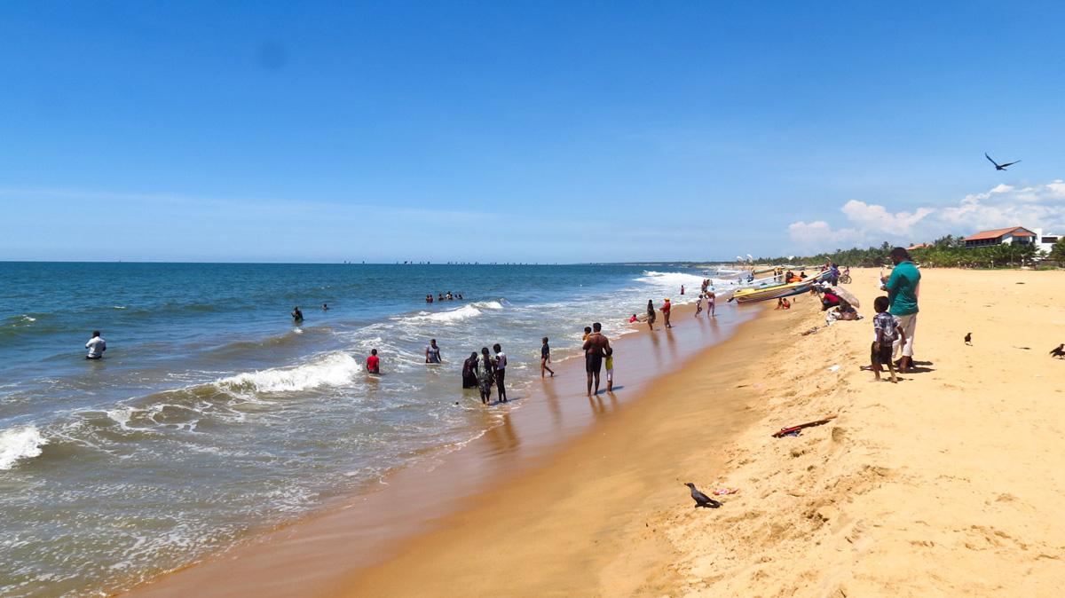 негомбо фото пляжей