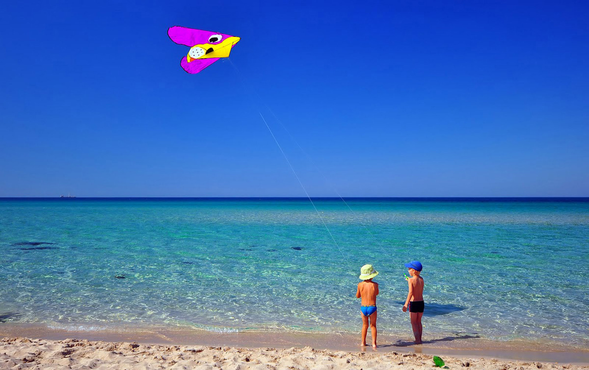 фото пляжа оленевка