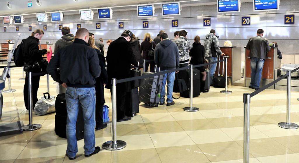 Проверка в аэропорту чемоданы жуляны beneton рюкзаки