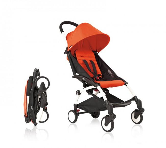 Детская коляска должна легко складываться и занимать мало места