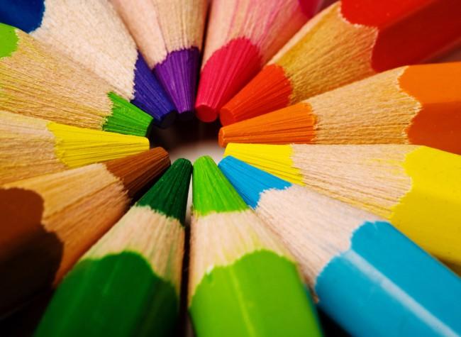 Можно научить ребенка считать с помощью карандашей