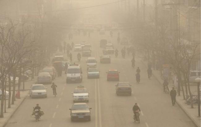 Это не дефекты фотосъемки, в такой дымке от смога задыхаются жители Линьфэна!