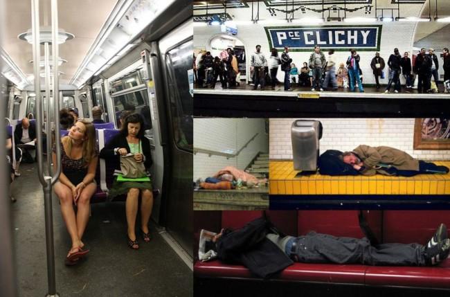 Мусор на полу, грязные стены и заплеванные платформы еще не самое печальное зрелище в Парижском метро