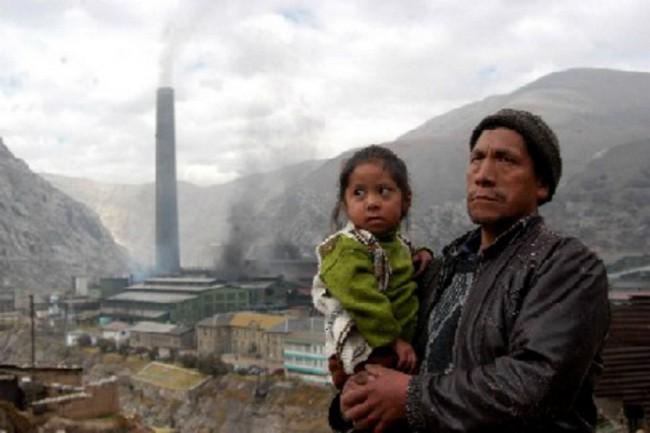 Металургический комплекс в Ла Оройя был построен практически без очистных сооружений и перуанский город приобрел печальную известность места с самым грязным воздухом