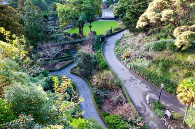 Ботанический сад был основан в 1868 г