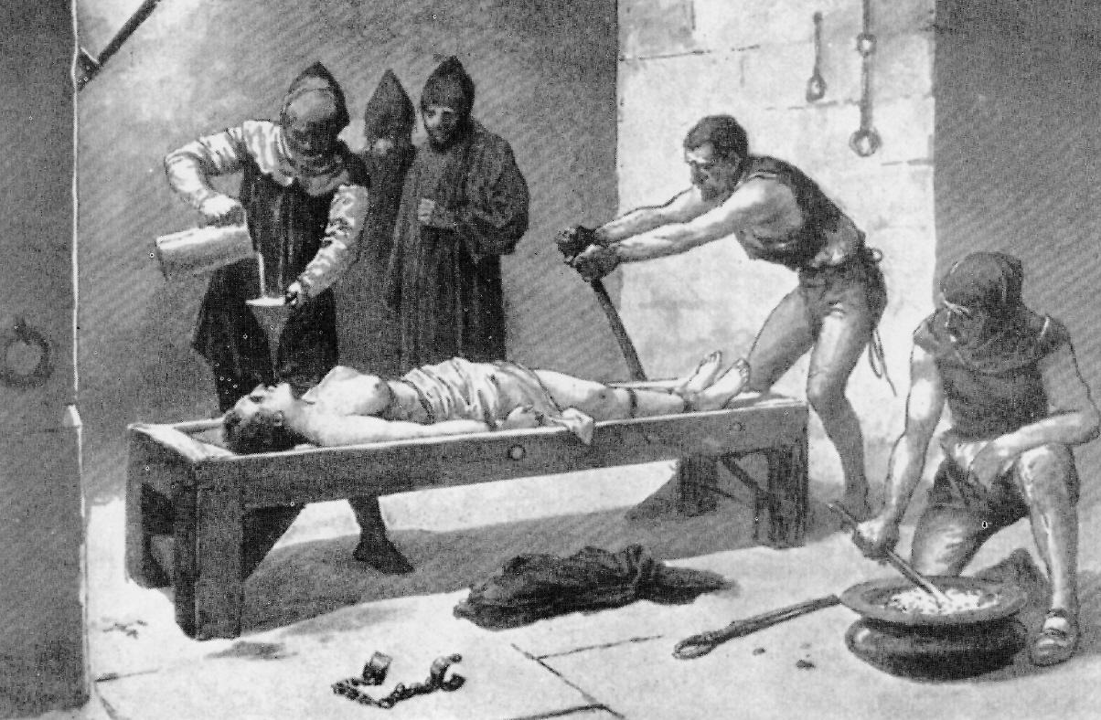 Сексуальные пытки женщин в инквизиции