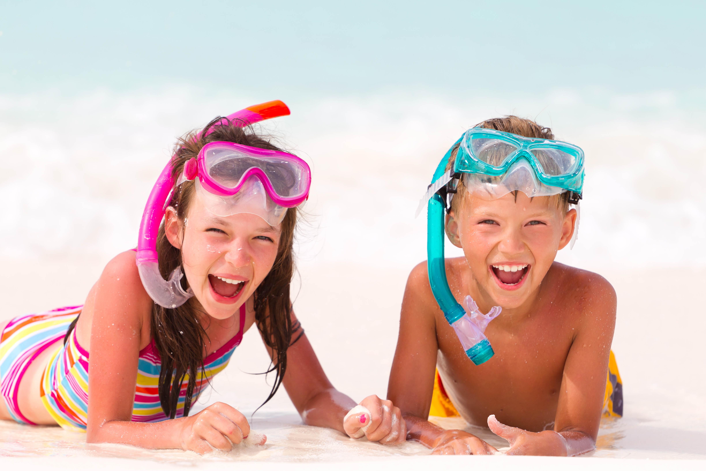 Идеи детских фото на море