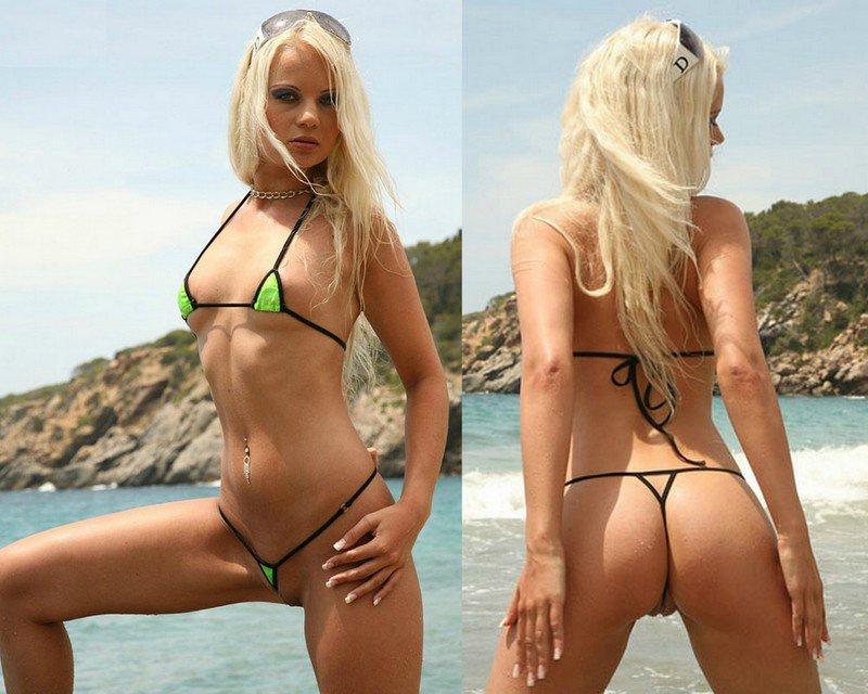 фото девушек на диких пляжах