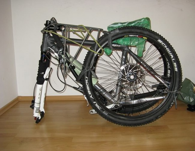 Сборка-разборка велосипеда займет, в среднем, 40 минут