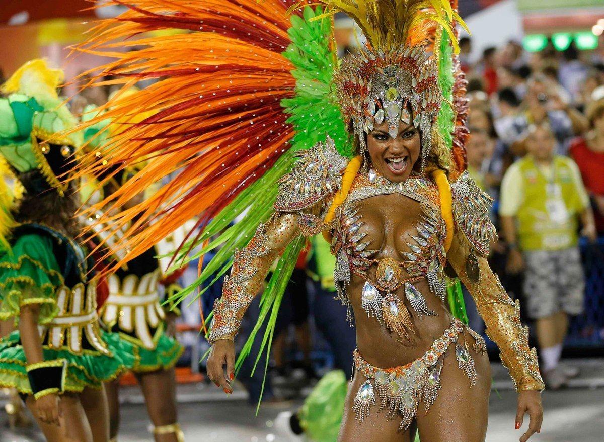 Карнавал В Рио Де Жанейро 2014