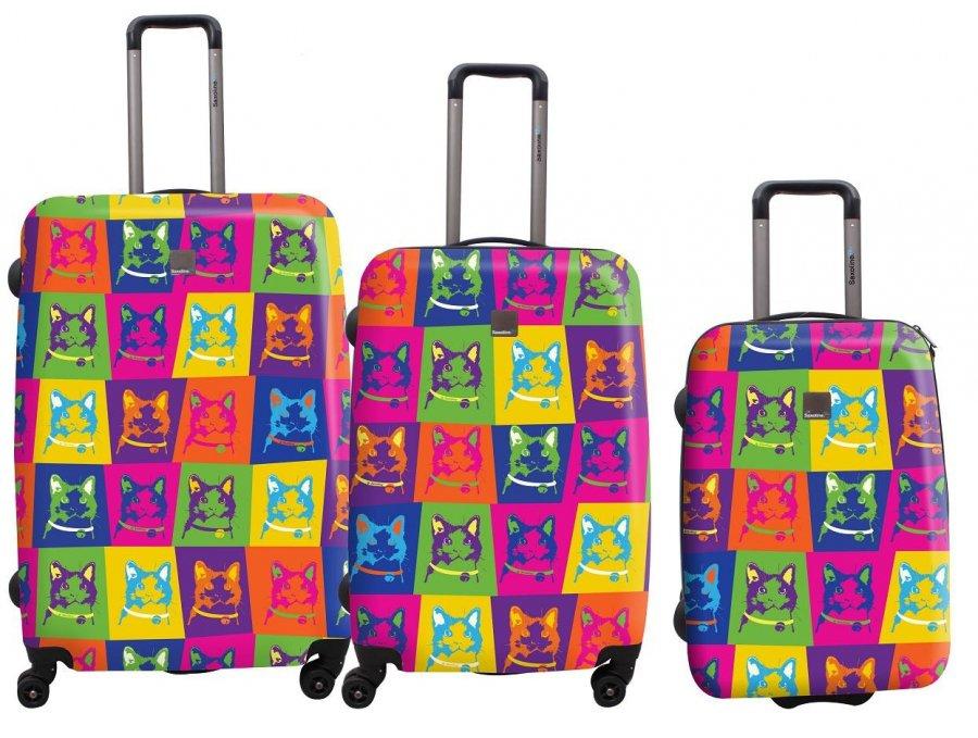 Цветные чемоданы на колесах рюкзаки оптом от производителя китай