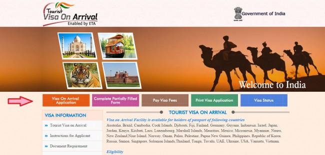 Как получить визу в Индию - подробная инструкция с фото
