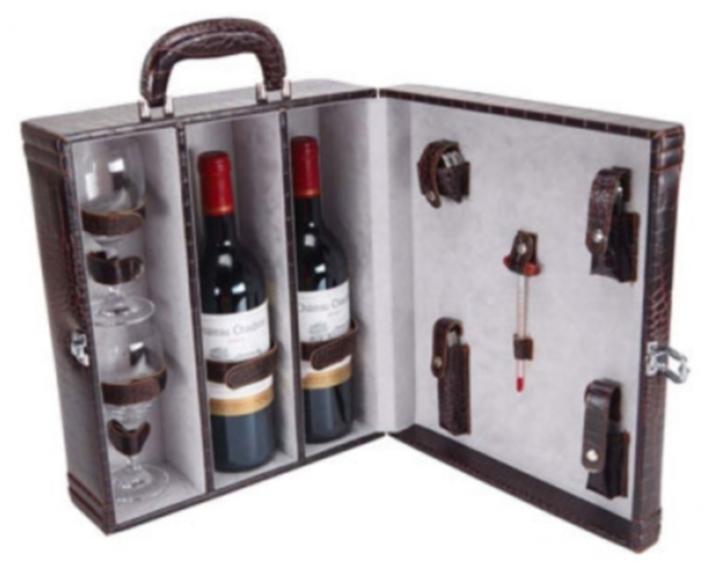 Есть даже специальные чемоданчики для перевоза спиртного.
