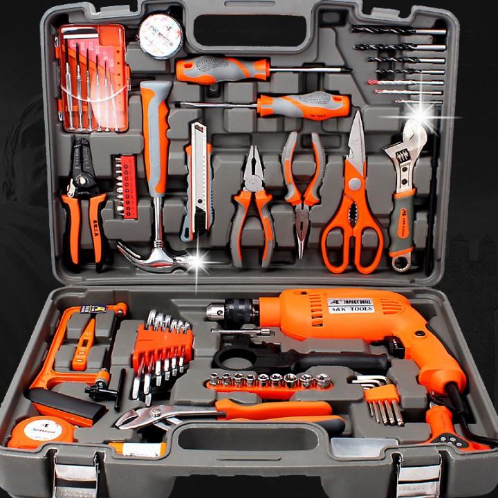 Удобно и надежно упакованные инструменты.