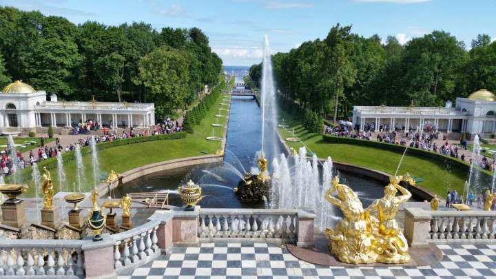 Русский Версаль с царской атмосферой